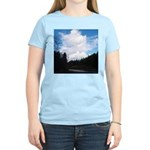 Eel River with Clouds Women's Light T-Shirt