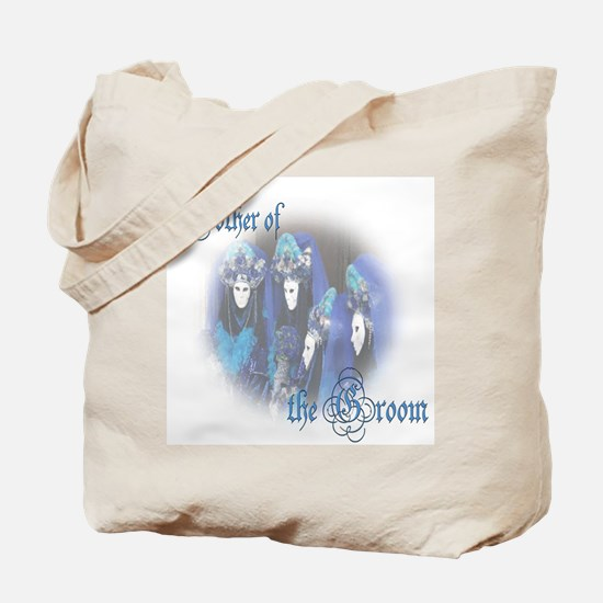 Venezia Blue Mother of the Groom Tote Bag
