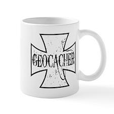 Geocacher Iron Cross Mug