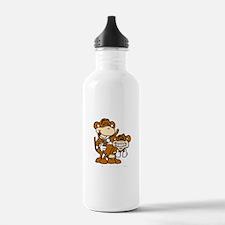 Monkey Love! Water Bottle