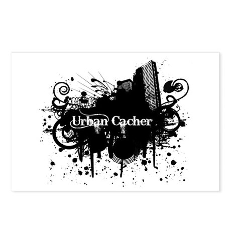 Urban Cacher Postcards (Package of 8)