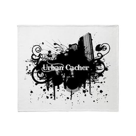 Urban Cacher Throw Blanket