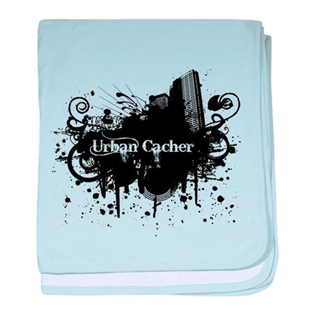 Urban Cacher baby blanket