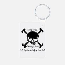 5/5 caches...bring em on! Keychains