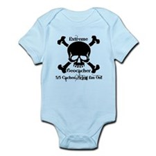 5/5 caches...bring em on! Infant Bodysuit