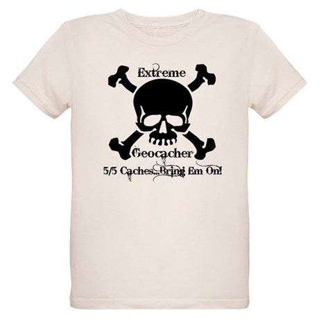 5/5 caches...bring em on! Organic Kids T-Shirt