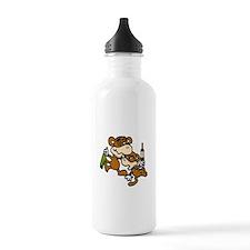 drunken monkeys! Water Bottle