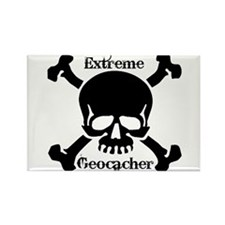 Extreme Geocacher Rectangle Magnet (10 pack)