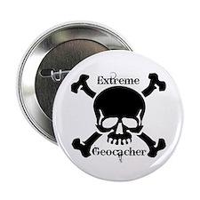 """Extreme Geocacher 2.25"""" Button"""