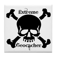 Extreme Geocacher Tile Coaster