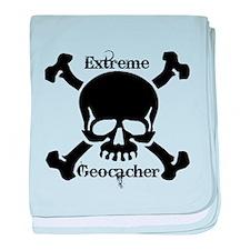 Extreme Geocacher baby blanket