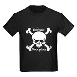 Geocache skull Kids T-shirts (Dark)