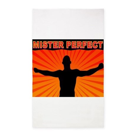 MISTER PERFECT 3'x5' Area Rug