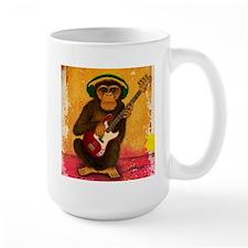 Funky Monkey Bass Player Mug