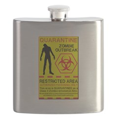 Zombie Outbreak Flask