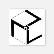 "Antahkarana Square Sticker 3"" x 3"""