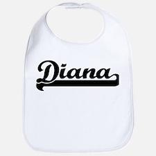 Black jersey: Diana Bib