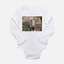 Wild Boar Long Sleeve Infant Bodysuit