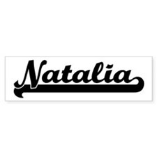 Black jersey: Natalia Bumper Bumper Sticker