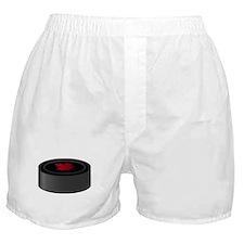 Canadian Hockey Puck Boxer Shorts