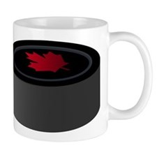 Canadian Hockey Puck Mug