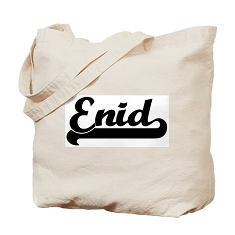 Black jersey: Enid Tote Bag