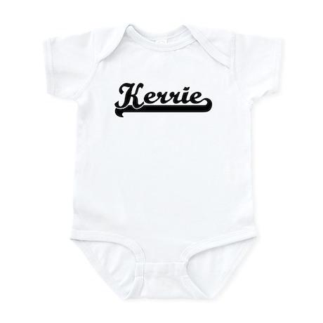 Black jersey: Kerrie Infant Bodysuit