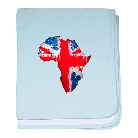 British Afrika baby blanket