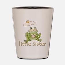 Little Sister Frog Shot Glass