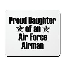 Proud AF Daughter Mousepad