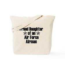 Proud AF Daughter Tote Bag