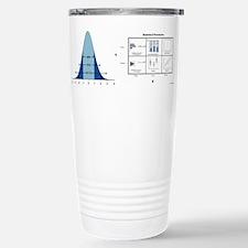 Cute Normal distribution Travel Mug