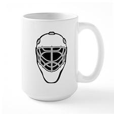 White Goalie Mask Mug
