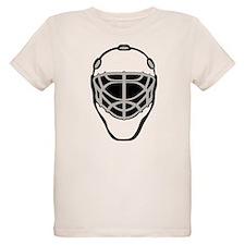 White Goalie Mask T-Shirt