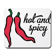 hot and spicy Mousepad