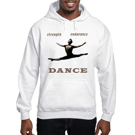 Strength, Endurance, Dance Hooded Sweatshirt