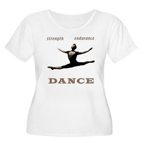 Strength, Endurance, Dance Women's Plus Size Scoop