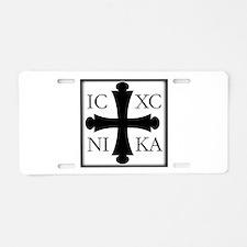 ICXC NIKA Aluminum License Plate