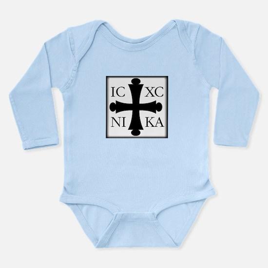 ICXC NIKA Long Sleeve Infant Bodysuit