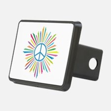 Peace Symbol Star Hitch Cover