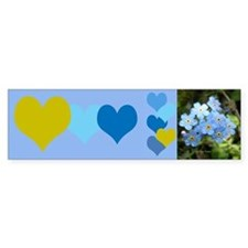 Forget-Me-Not Bumper Sticker