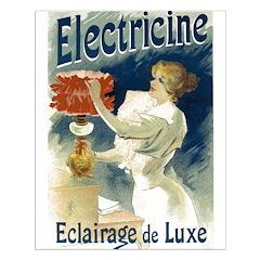 Vintage Poster Art Electricine Posters