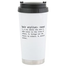 hair stylist definition Travel Mug