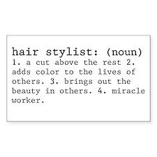 hair stylist definition Decal