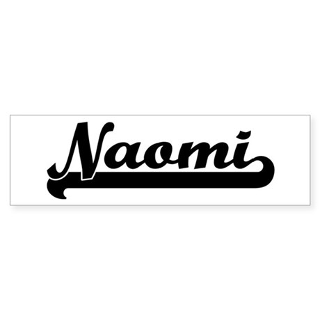 Black jersey: Naomi Bumper Sticker