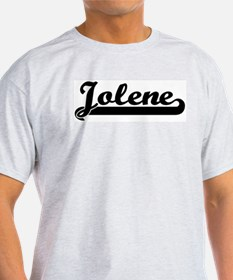 Black jersey: Jolene Ash Grey T-Shirt