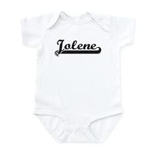 Black jersey: Jolene Infant Bodysuit