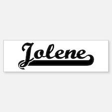 Black jersey: Jolene Bumper Bumper Stickers