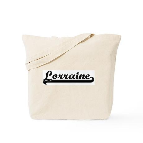 Black jersey: Lorraine Tote Bag