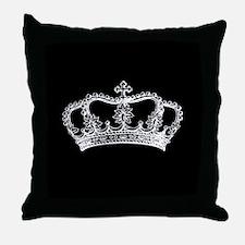 Cute Crown Throw Pillow